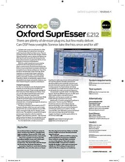 Oxford SuprEsser Native