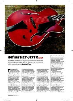 HCT-SL-N-0 Blue Tone Archtop