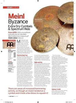 "14"" Byzance Hi-Hat Extra Dry"