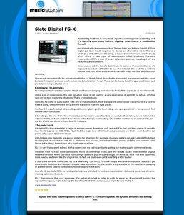 FG-X Mastering Suite