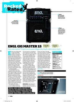 E315 Gigmaster Head