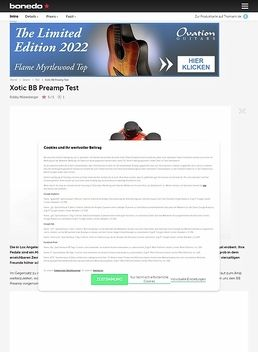 BB-MB Preamp