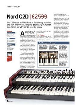 Nord Soft Case C2D