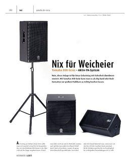 Cover Pro Yamaha DSR118