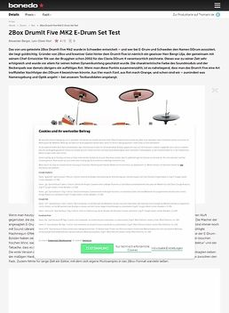 Drumit Five E-Drum Brain