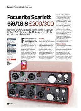 Scarlett 6i6