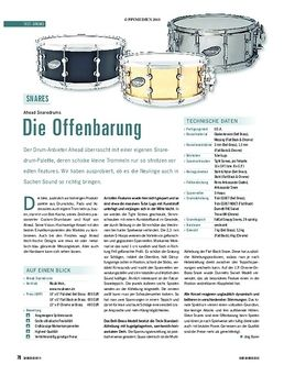 """14""""x06"""" Snare Brass Pro Silver"""