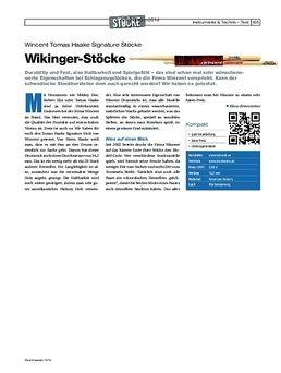 Tomas Haake Signature Sticks