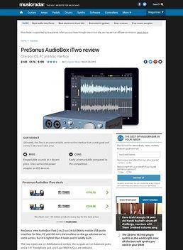 AudioBox iTwo