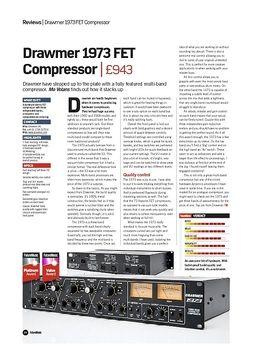 Drawmer 1973 FET Compressor