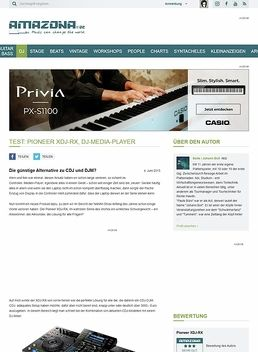 Test: Pioneer XDJ-RX, DJ-Media-Player