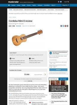 Mini O Travel Guitar