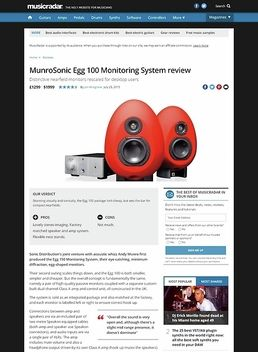 MunroSonic Egg 100 Monitoring System