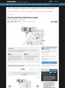Crystal Beat Standard Clear