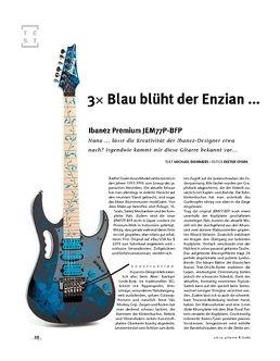 Ibanez Premium JEM77P-BFP, E-Gitarre