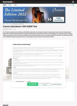 HydraBeam 400 4x10W Cree RGBW