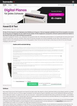 Kawai ES 8