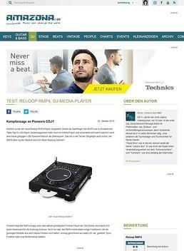 Test: Reloop RMP4, DJ-Media-Player