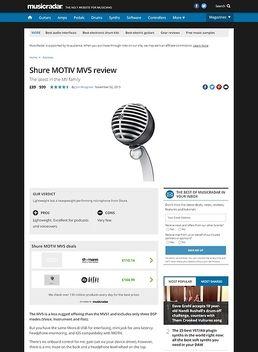 Motiv MV5 Grey