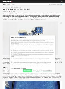 PDP New Yorker Shell Set Blue
