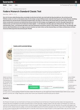 Monarch Standard Classic RW WH