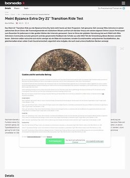 Meinl Byzance Extra Dry 21 Transition Ride