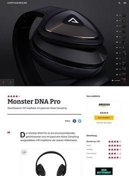 DNA Over Ear Black B-Stock