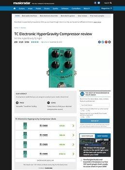 TC Electronic HyperGravity Compressor