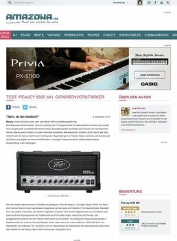 Test: Peavey 6505 MH, Gitarrenverstärker