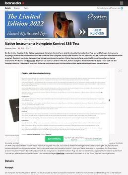 Native Instruments Komplete Kontrol S88