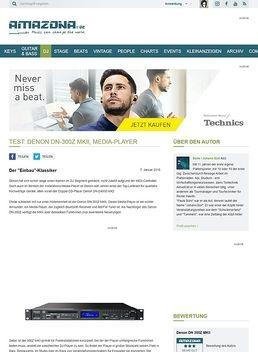 Test: Denon DN-300Z MKII, Media-Player