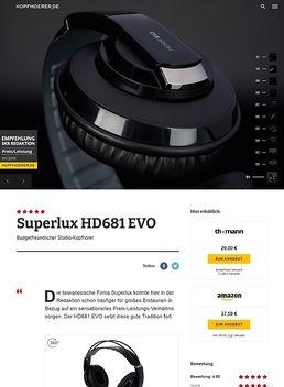 HD-681 Evo BK