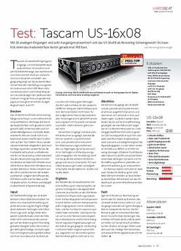 Tascam US-16x08