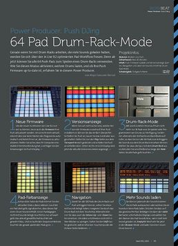 Push DJing - 64 Pad Drum-Rack-Mode