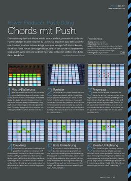 Push-DJing - Chords mit Push