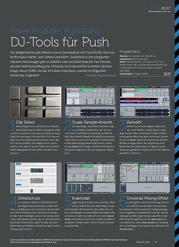 Push DJing - DJ-Tools für Push
