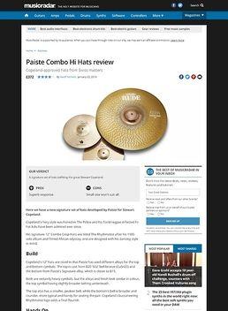 Paiste Combo Hi Hats