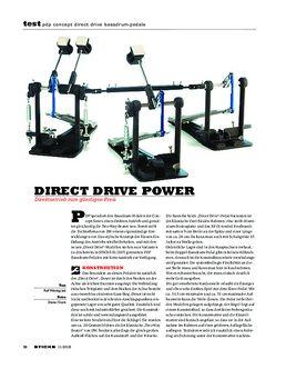 PDP Concept Direct Drive Bassdrum-Pedale