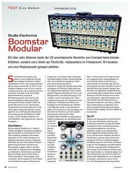 Studio Electronics Boomstar Modular