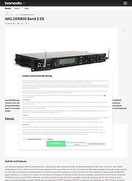 DSR 800 Band 1