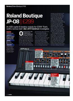 Roland Boutique JP-08