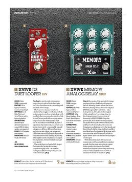 Xvive Memory Analog Delay