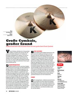 Zildjian K Custom Dark Crash Cymbals
