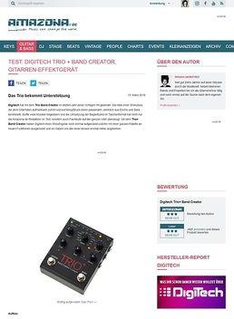 Test: Digitech Trio+ Band Creator, Gitarren-Effektgerät