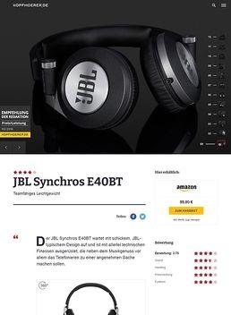 Synchros E40 BT Black