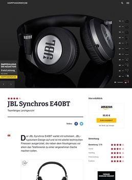 Synchros E40 BT Red B-Stock