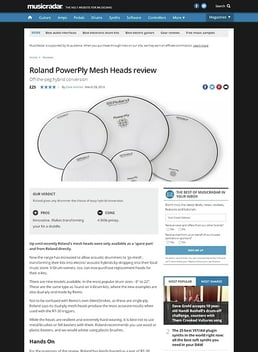 Roland PowerPly Mesh Heads