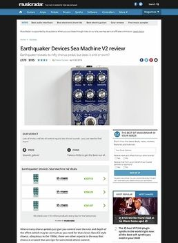 Earthquaker Devices Sea Machine V2
