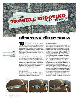 Dämpfung für Cymbals