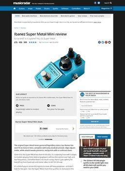 SMMini Super Metal Pedal